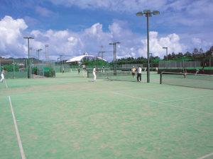 北谷公園 庭球場 イメージ画像