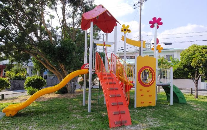 上勢頭北公園に遊具が設置されました!